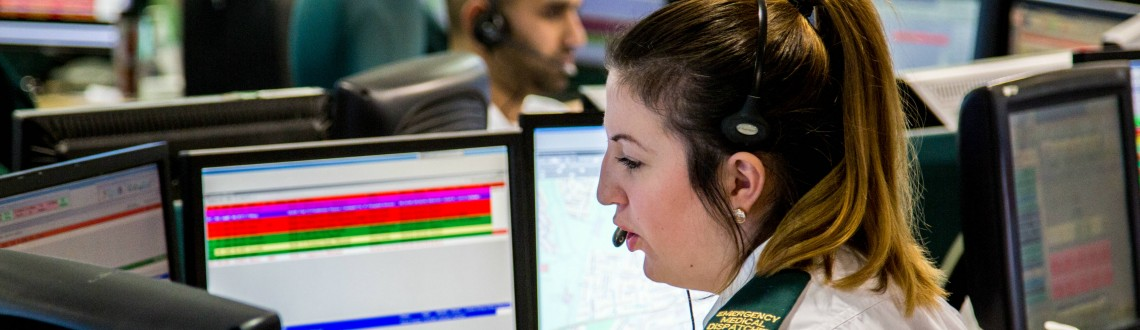 Ambulance Services Contact Centre Staff